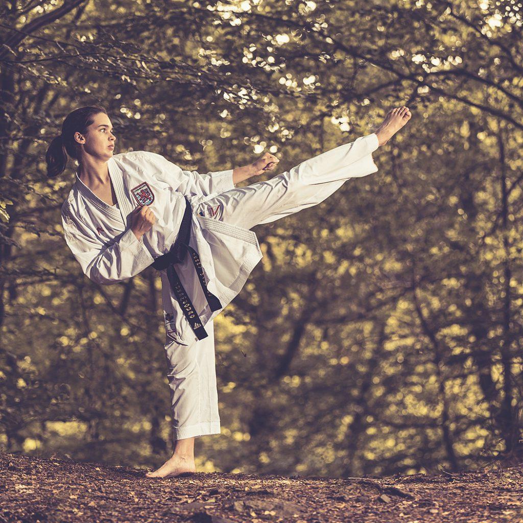 Sport Fotografie Portrait Karate Meister