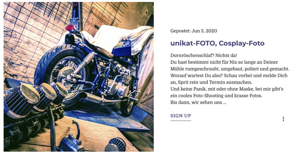 Blog Unikat-Foto Fotostudio Saarland Mettlach